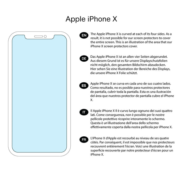 Apple iPhone X / XS Tempered Glass Privacy Screen Protector & Installation Frame | Magicscreen