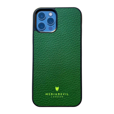 iPhone 12 Pro Max Plant Leather Case