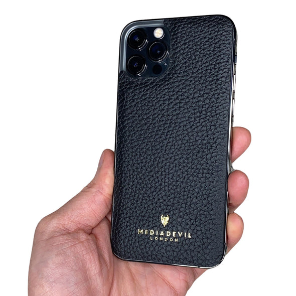 iPhone 12 Pro Genuine Leather Back Protector