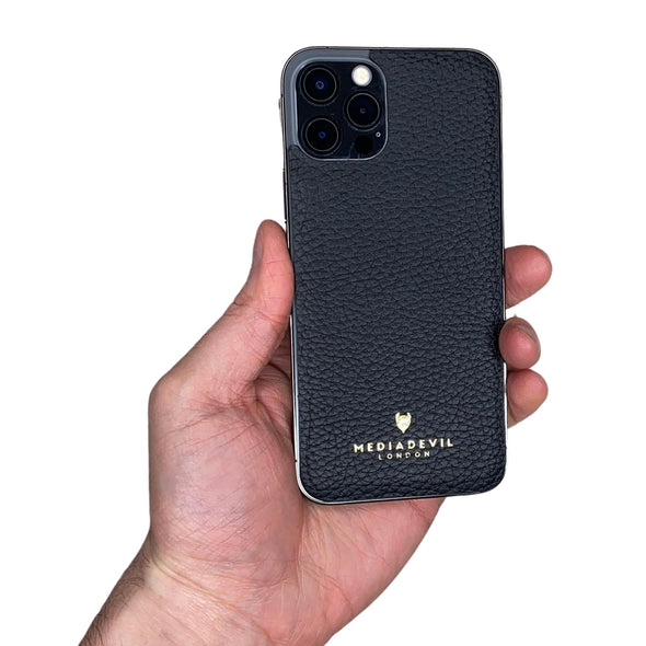 iPhone 12 Pro Max Genuine Leather Back Protector