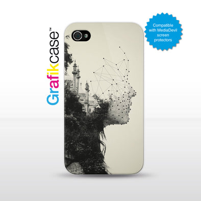 Grafikcase iPhone 4/4S case: Vector by Dan Mountford