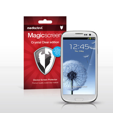 Magicscreen screen protector: Crystal Clear (Invisible) edition - Samsung Galaxy S III