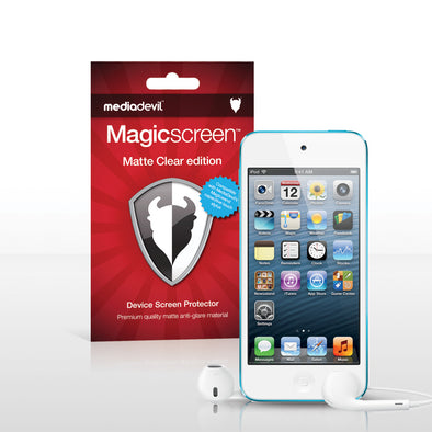 Magicscreen screen protector - Matte Clear (Anti-Glare) Edition - Apple iPod Touch 5G