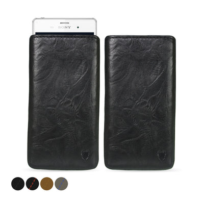 Sony Xperia Z3 Genuine European Leather Pouch Case | Artisanpouch