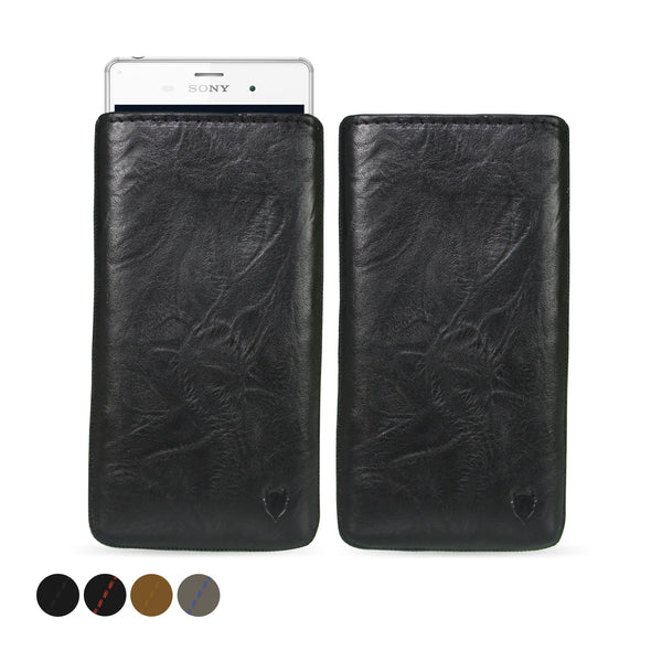Sony Xperia Z3 Genuine Leather Pouch Case | Artisanpouch