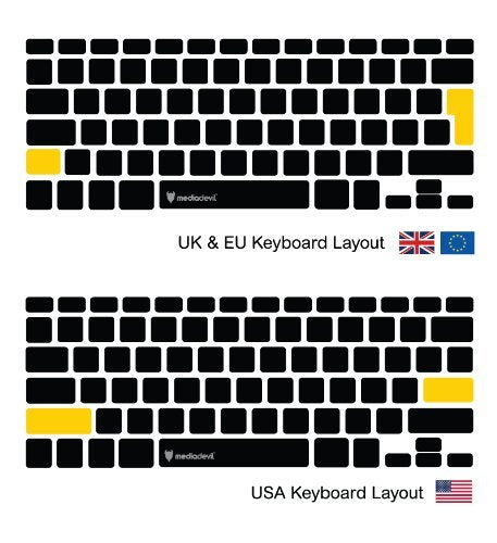 "Apple MacBook Pro 13"" & 15"" (2016 - 2019) Keyboard Protector (Anti-Bacterial) 