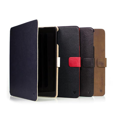 Artisancover genuine European leather case with integrated stand and automatic sleep & wake sensors - Apple iPad Air