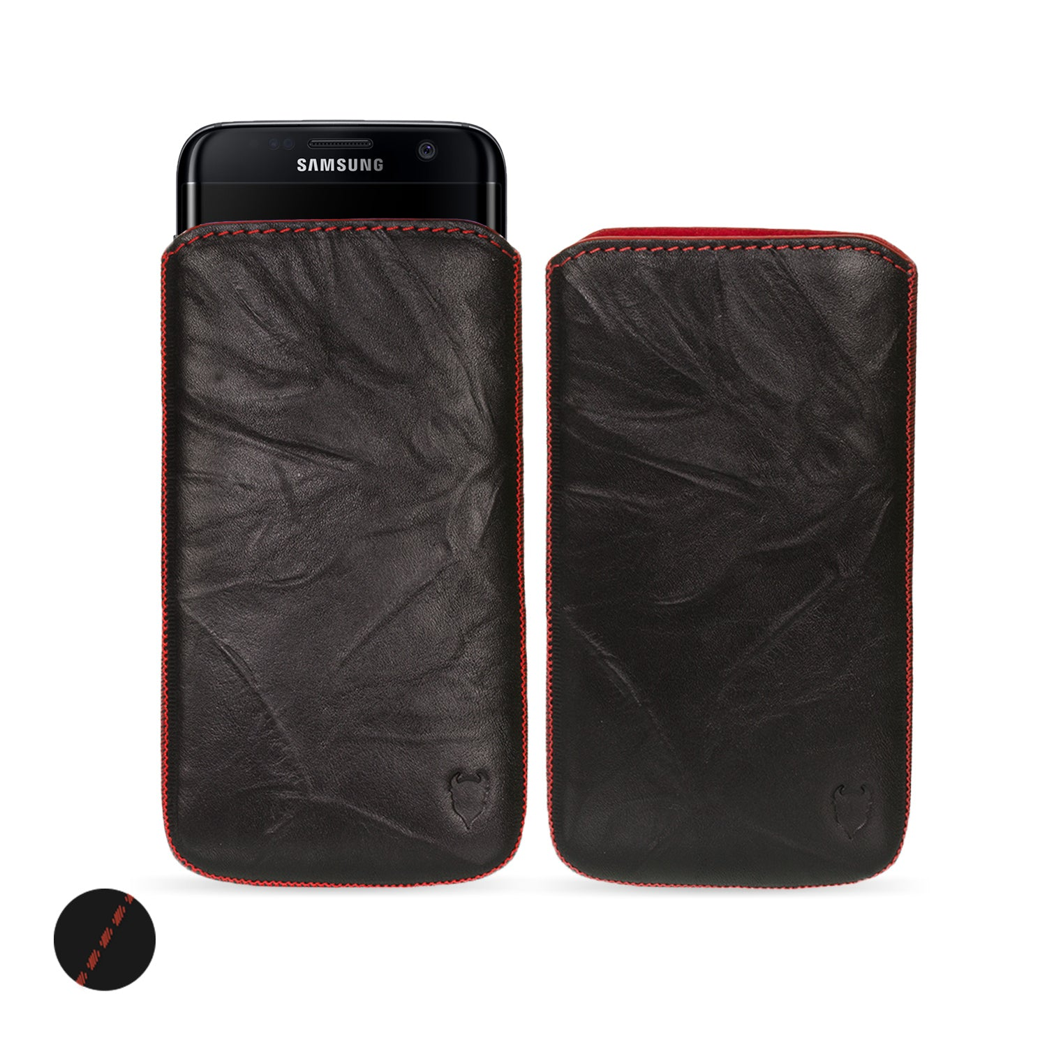 check out f93f7 7bc9a Samsung Galaxy S9 Genuine European Leather Pouch Case | Artisanpouch