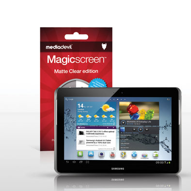 "Magicscreen screen protector - Matte Clear (Anti-Glare) Edition - Samsung Galaxy Note Tablet (10.1"")"
