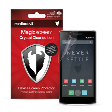 Magicscreen screen protector - Crystal Clear (Invisible) edition - OnePlus One