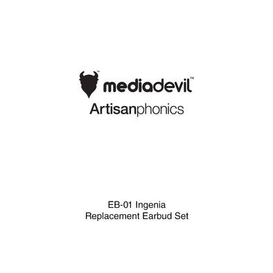 MediaDevil Artisanphonics Replacement Earbuds