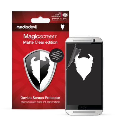 Magicscreen screen protector - Matte Clear (Anti-Glare) Edition - HTC One 2014 (M8)