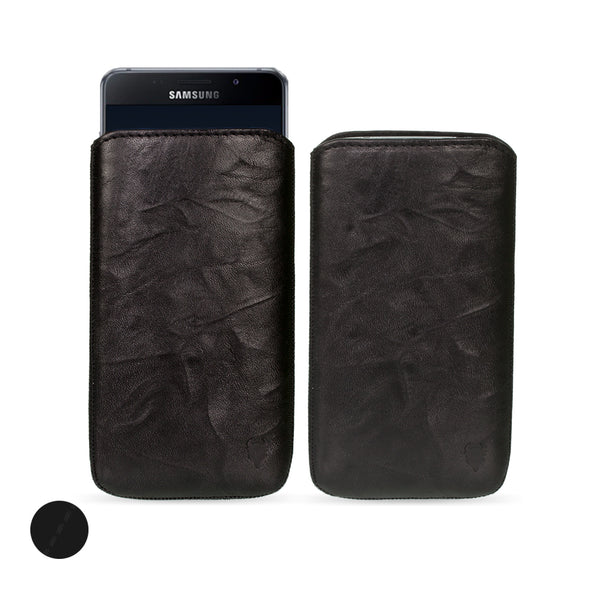 Samsung Galaxy A9 (2016) Genuine Leather Pouch Case | Artisanpouch