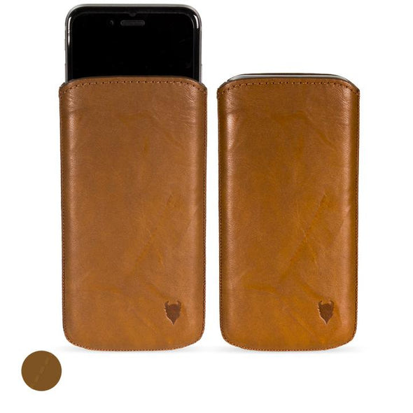 Google Pixel 4a Genuine Leather Pouch Case | Artisanpouch