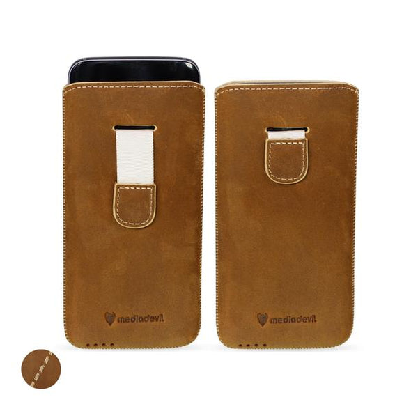 Huawei P Smart Genuine European Leather Pouch Case | Artisanpouch