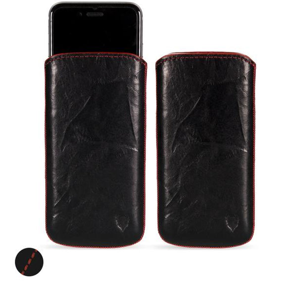 Apple iPhone XR Genuine European Leather Pouch Case | Artisanpouch