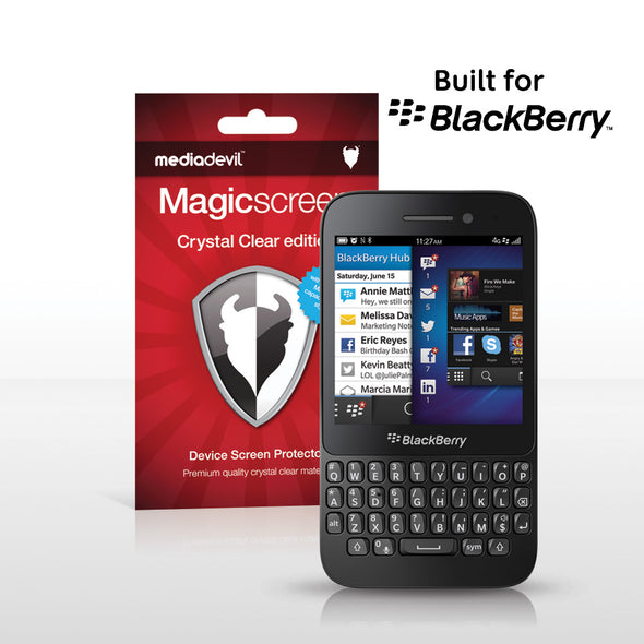 BlackBerry Q5 Screen Protector (Clear) | Magicscreen