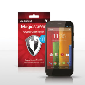 Motorola Moto G (2013) and Moto G 4G LTE Screen Protector (Clear) | Magicscreen
