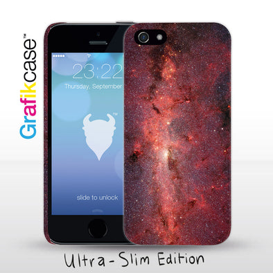 Grafikcase iPhone SE/5/5S case: Red Galaxy