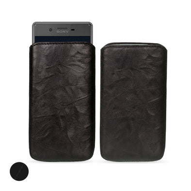 Sony Xperia X Genuine European Leather Pouch Case | Artisanpouch