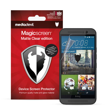 HTC One M9 (2015) Matte Clear (Anti-Glare) Screen Protector | Magicscreen