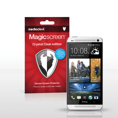Magicscreen screen protector - Crystal Clear (Invisible) Edition - HTC One