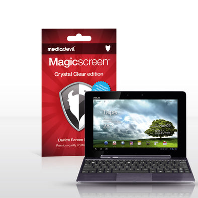 Magicscreen screen protector - Crystal Clear (Invisible) edition - Asus EeePad Transformer Prime TF201