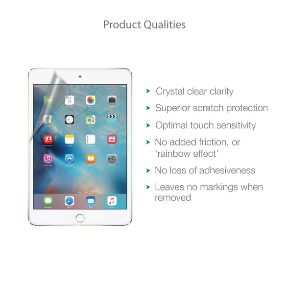 Apple iPad Mini 4 Screen Protector (Clear) | Magicscreen