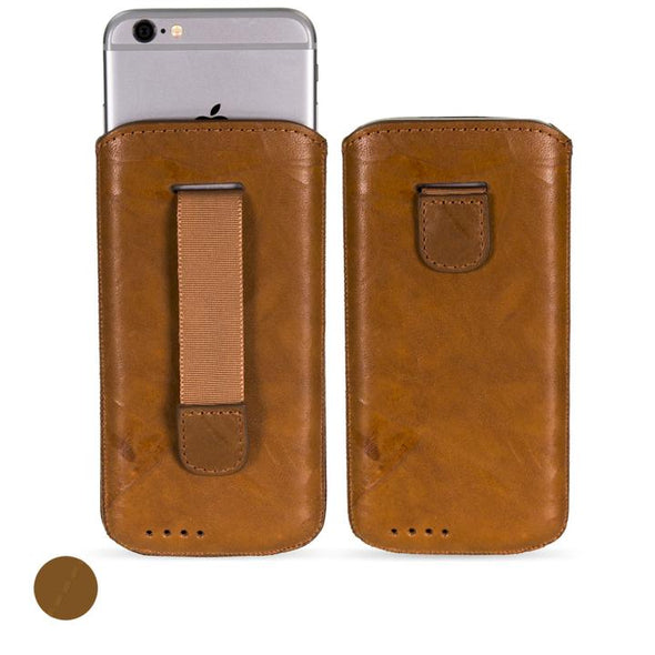 Google Pixel 4 Genuine Leather Pouch Case | Artisanpouch