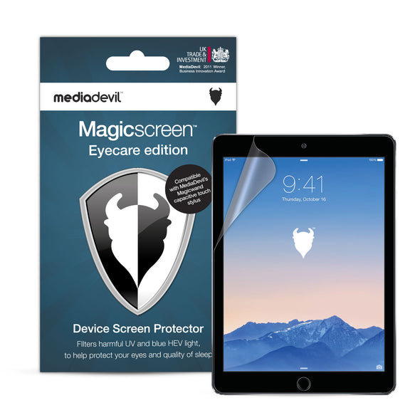 "Magicscreen screen protector - Eyecare Edition - Apple iPad Air 1/2, iPad Pro (9.7"") & iPad (2017)"