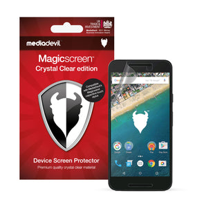 Google Nexus 5X Screen Protector (Clear) | Magicscreen