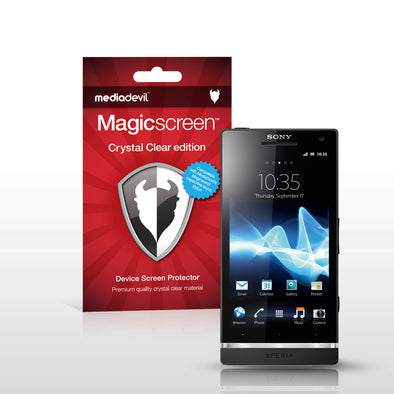 MediaDevil Magicscreen Screen Protectors for the Sony Xperia S