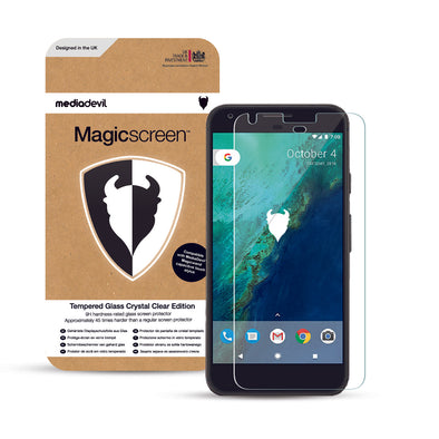 Google Pixel XL (1st Gen.) Tempered Glass Screen Protector (Clear) | Magicscreen