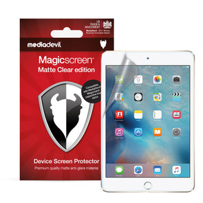 Apple iPad Mini 4 Matte Clear (Anti-Glare) Screen Protector | Magicscreen