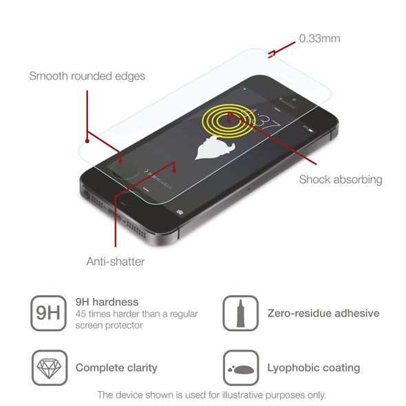 Google Nexus 5X Tempered Glass Screen Protector (Clear) | Magicscreen