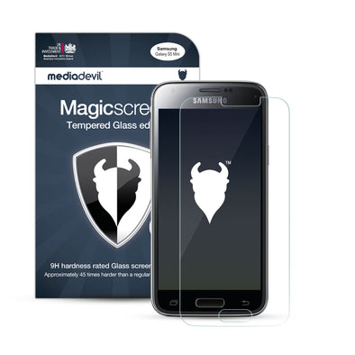 Samsung Galaxy S5 Mini Tempered Glass Screen Protector (Clear) | Magicscreen