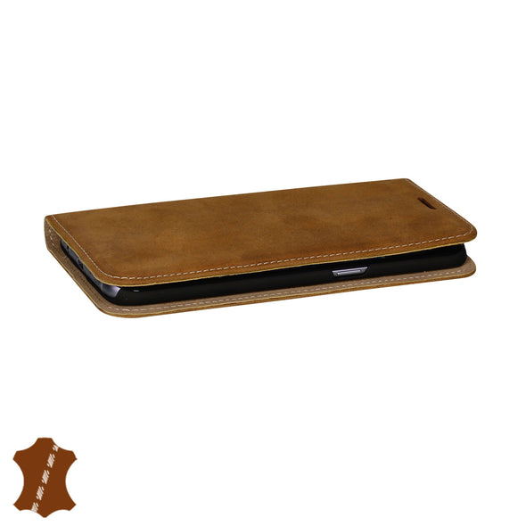 Samsung Galaxy S7 Edge Genuine Leather Case with Stand | Artisancover