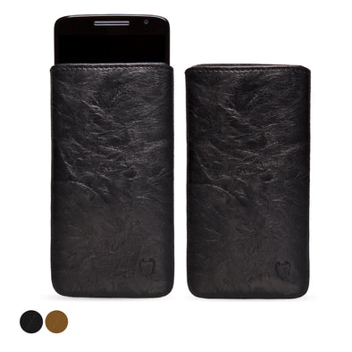 Motorola Moto X Play Genuine European Leather Pouch Case | Artisanpouch