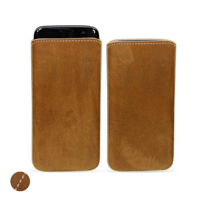 Huawei P Smart Genuine Leather Pouch Case | Artisanpouch
