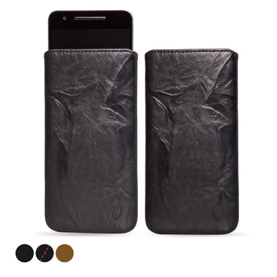 Google Nexus 6P Genuine Leather Pouch Case | Artisanpouch