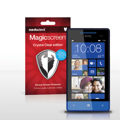 Magicscreen screen protector - Crystal Clear (Invisible) Edition - HTC Windows Phone 8S