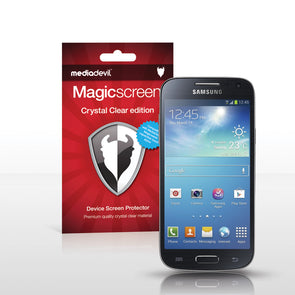Magicscreen screen protector - Crystal Clear (Invisible) edition - Samsung Galaxy S4 Mini