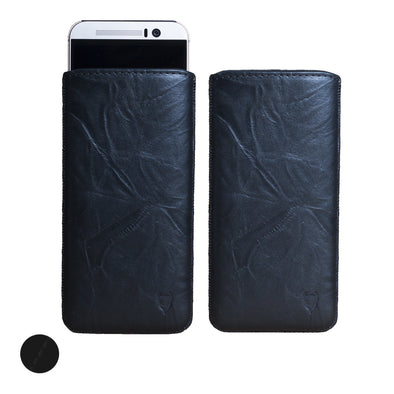 Artisanpouch genuine full-grain European leather pouch case - HTC One M9 (2015)