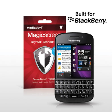 BlackBerry Q10 Screen Protector (Clear) | Magicscreen