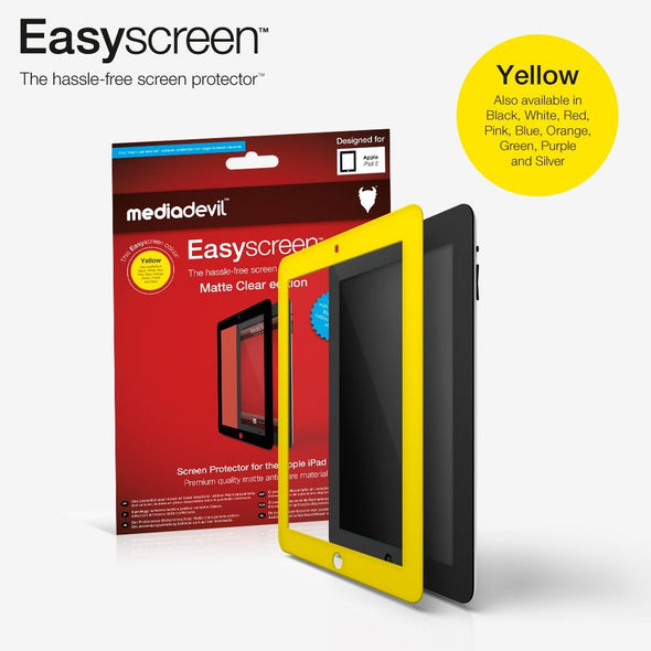 Easyscreen Bubble-Free Screen Protector: Matte Clear edition - Apple iPad 2 / iPad 3 / iPad 4