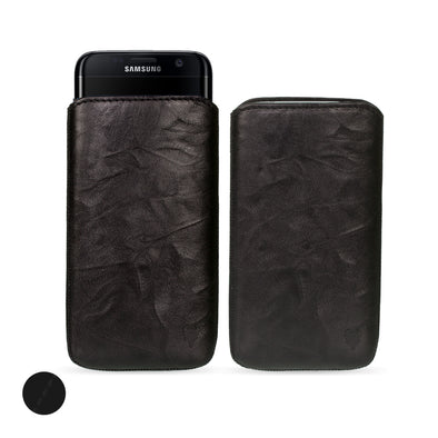 Samsung Galaxy S7 Edge Genuine European Leather Pouch Case | Artisanpouch