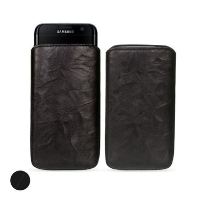 Samsung Galaxy S10e Genuine European Leather Pouch Case | Artisanpouch