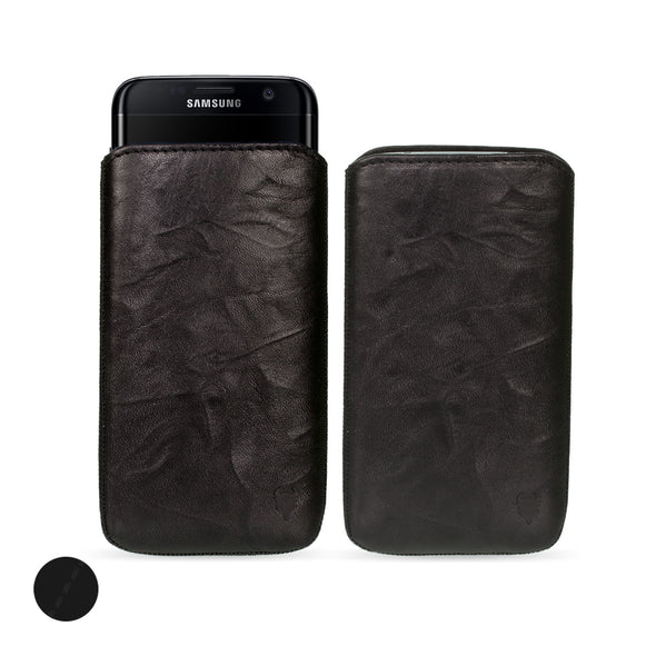 Samsung Galaxy S10 Plus (S10+) Genuine European Leather Pouch Case | Artisanpouch