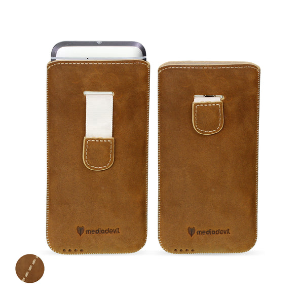 Huawei P10 Lite Genuine European Leather Pouch Case | Artisanpouch