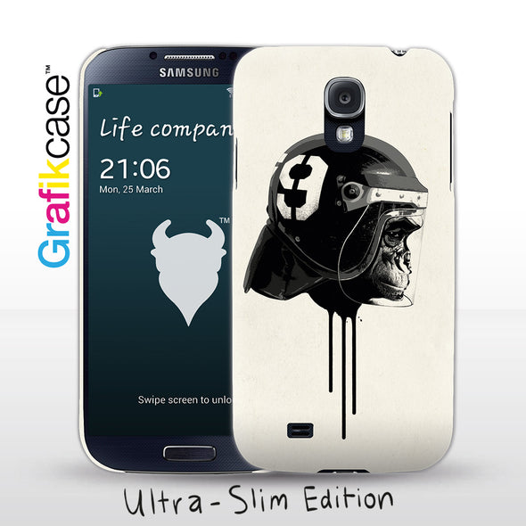 Grafikcase Samsung Galaxy S4 case: Ape Riot by Hidden Moves
